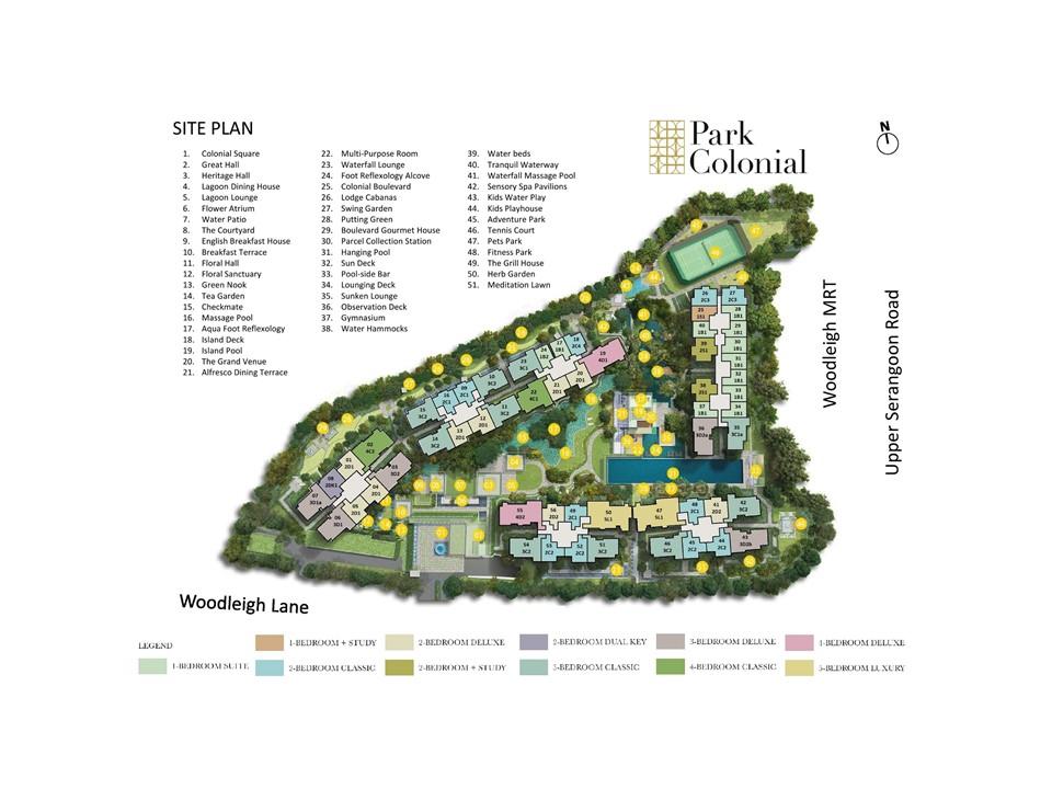 park-colonial-site-plan